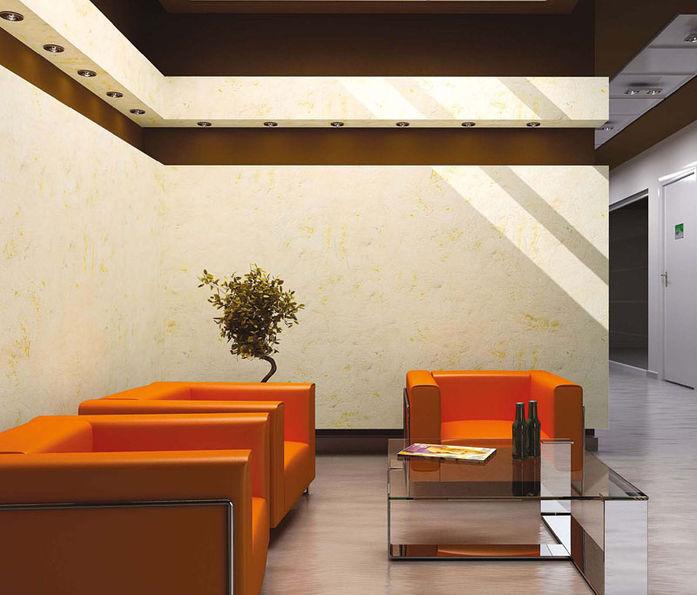 Nuove tendenze nei decorativi da interno prodotti fai da for Pitture murali interni